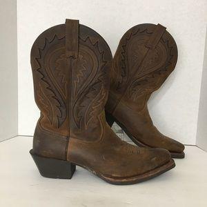 Ariat Men's Cowboy Western Rodeo Boots Brown 11.5D